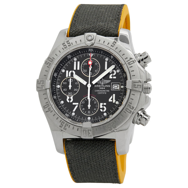 Breitling Avenger Skyland Black Dial Automatic Men's Watch A1338012