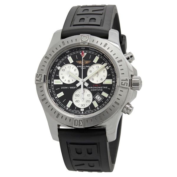 Breitling Colt A7338811 Black Dial Quartz Men's Watch