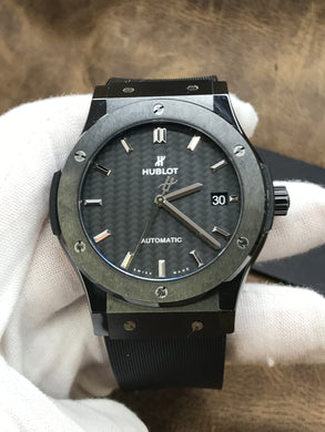 Hublot Classic Fusion Carbon Fiber Dial Automatic Men's Watch 511.CM.1771.RX