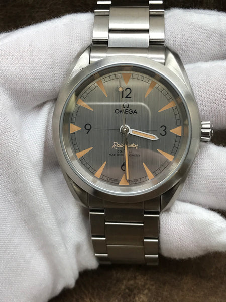 Omega Railmaster 220.10.40.20.06.001 Silver Dial Automatic Men's Watch
