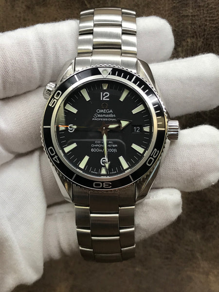 Omega Seamaster Planet Ocean 2201.50.00 Black Dial Automatic Men's Watch
