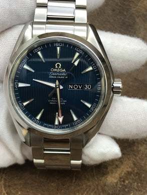 Omega Seamaster Aqua Terra Aqua Terra Blue Dial Automatic  Men's Watch 231.10.43.22.03.002