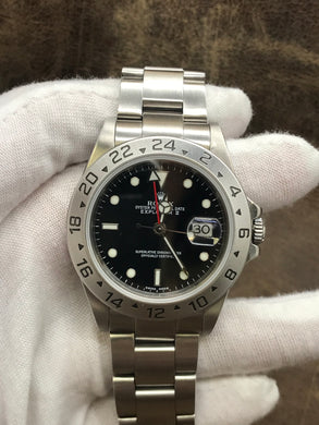 Rolex Explorer II 16570 Black Dial Automatic Men's Watch
