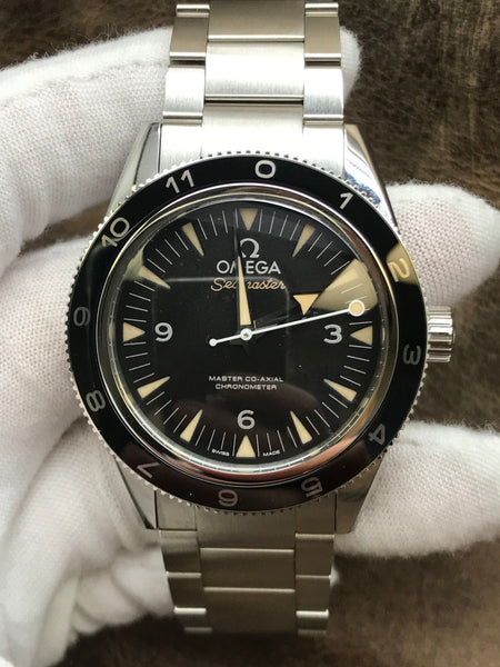 Omega Seamaster 300 SPECTRE Limited Edition 233.32.41.21.01.001 Black Dial Automatic Men's Watch