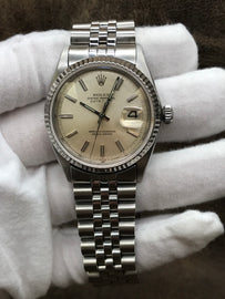 Rolex Datejust 1603 Silver Dial Automatic Men's Watch