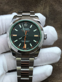 Rolex Milgauss 116400GV Black Dial Automatic Men's Watch