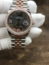 Rolex Datejust 126281RBR Anthracite Dial Automatic Women's Watch