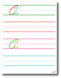 Cursive Writing Worksheets by Kidznote®