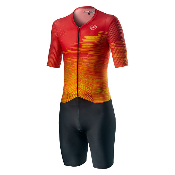 CASTELLI PR SPEED Race Suit - Fire Red