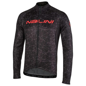 Nalini AHW LOGO TI Thermal Jersey - Black / Red