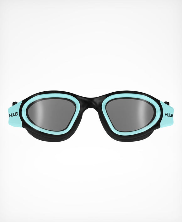 HUUB Aphotic Swim Goggle – Black & Aqua