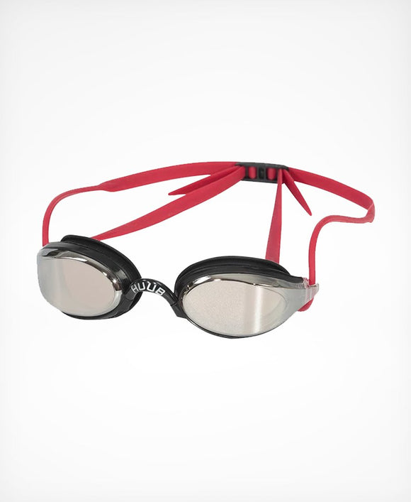 HUUB Brownlee Swim Goggle - Red / Light Smoke Mirror