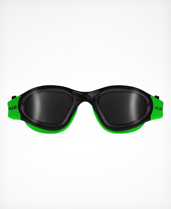 HUUB Aphotic Swim Goggle – Black & Green