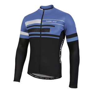 Nalini AHSB FATICA Thermal Jersey - Black / Blue