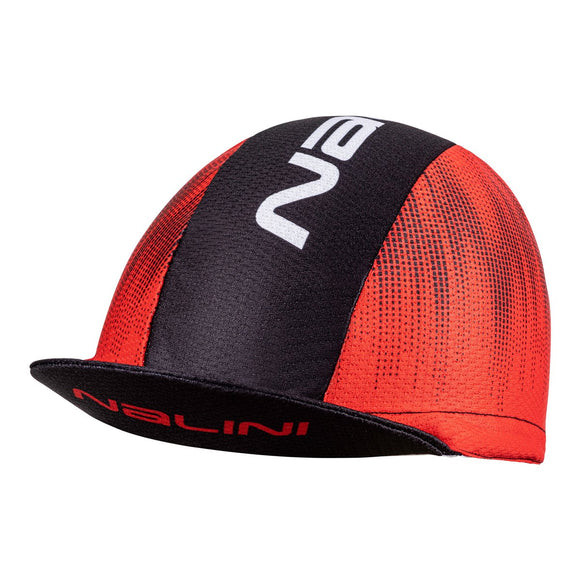 Nalini ELMONT Cycling Cap - Black / Red