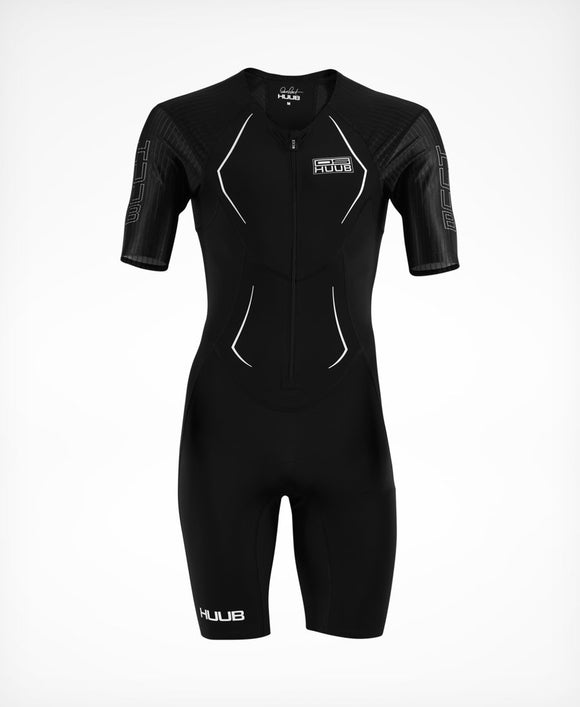 HUUB Dave Scott Race Suit - Black (+6 FREE Maurten Gels - Value R342.00)