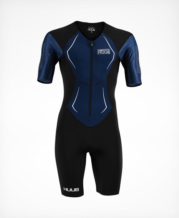 HUUB Dave Scott Race Suit - Navy (+6 FREE Maurten Gels - Value R342.00)