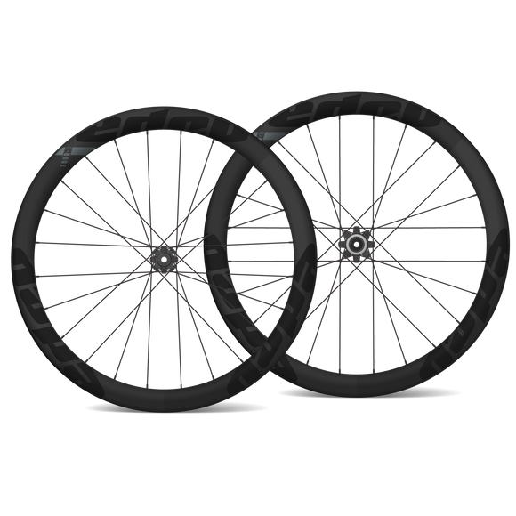 EDCO Carbon Clincher FOUR-8 Wheelset - 48mm/48mm