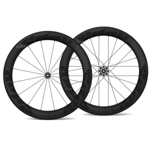 EDCO Carbon SIX-4 Disc Wheelset - 64mm/64mm