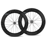 EDCO Carbon SIX-4 Front & EIGHT-2 Rear Disc Wheelset - 64mm/82mm