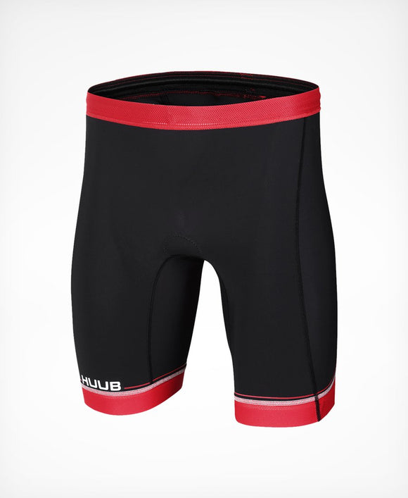 HUUB Men's Core Triathlon Short - Black / Red