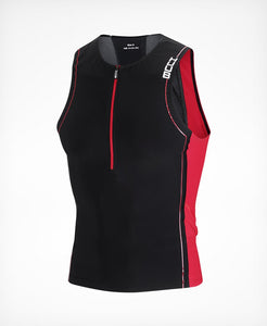 HUUB Core Men's Tri Top - Black / Red