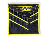 PEDROS T/L HANDLE HEX & TORX SET