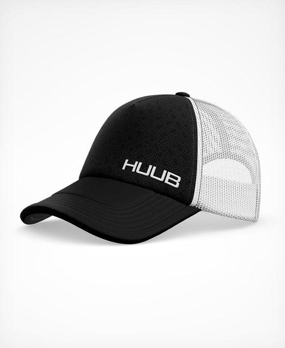 HUUB Running Baseball Cap - Black/White