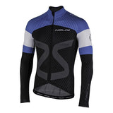 Nalini AHW TC Mid / Cool Season Jersey - Black / Blue