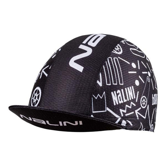 Nalini ELMONT Cycling Cap - Black / White