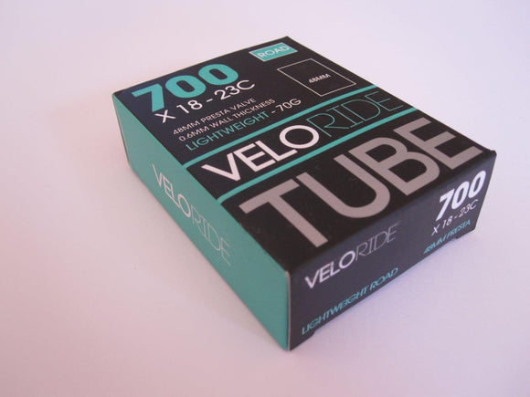 VELORIDE 700X19-23C LIGHT WEIGHT INNER TUBE - 70G