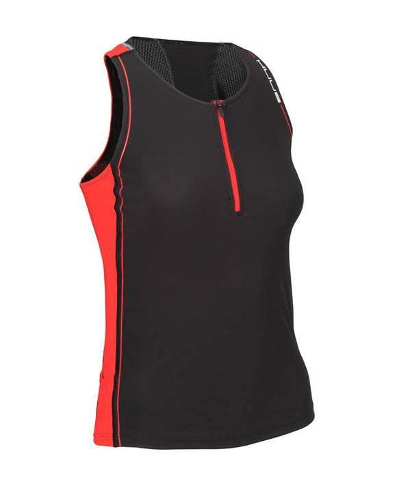 HUUB Women's Core Tri Top - Black/Red