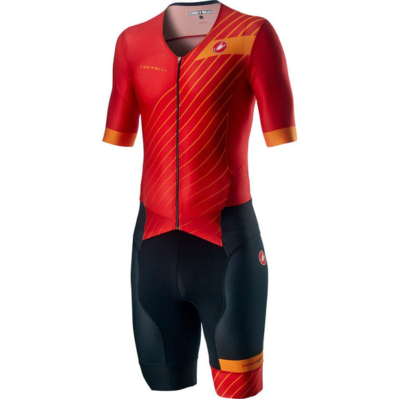 CASTELLI Free San Remo Mens SS Suit - Red 2020