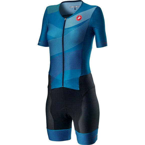 CASTELLI Free San Remo Womens SS Suit - Dark Blue 2020