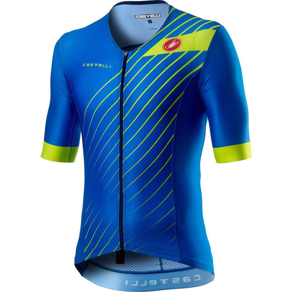 CASTELLI FREE Speed SS Top Mens - Blue 2020