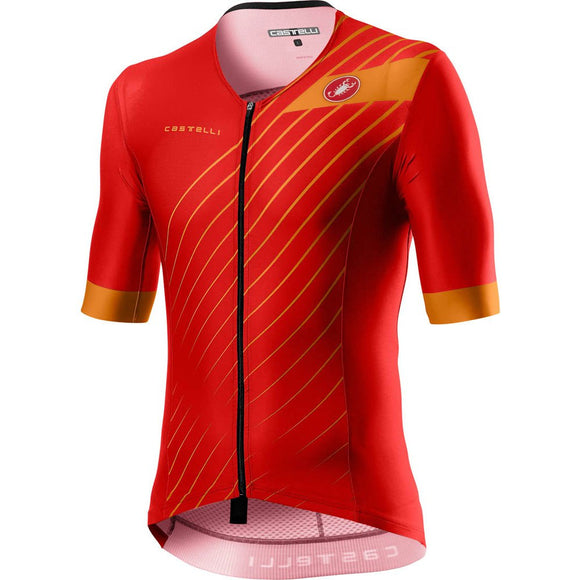 CASTELLI FREE Speed SS Top Mens - Red 2020