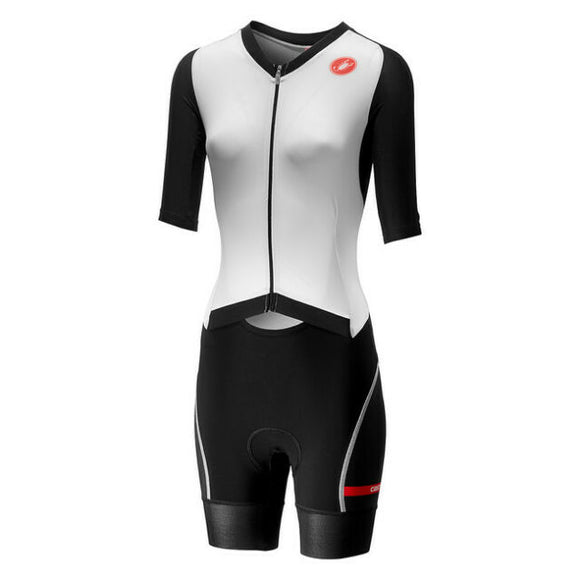 Castelli Women's All Out W Speed Suit - White/Black