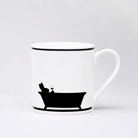 Bathtime Rabbit Mug