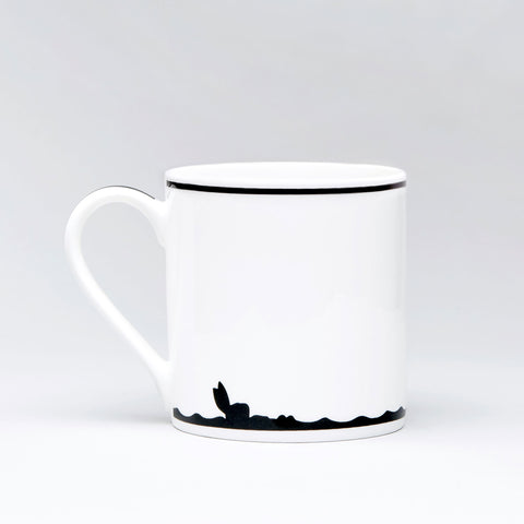 Diving Rabbit Mug
