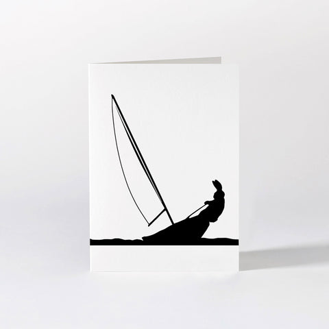 Sailing Rabbit Card