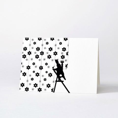 Wallpapering Rabbit Card