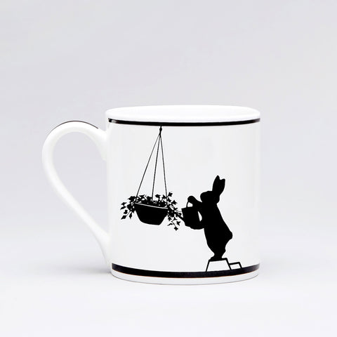 Watering Rabbit Mug