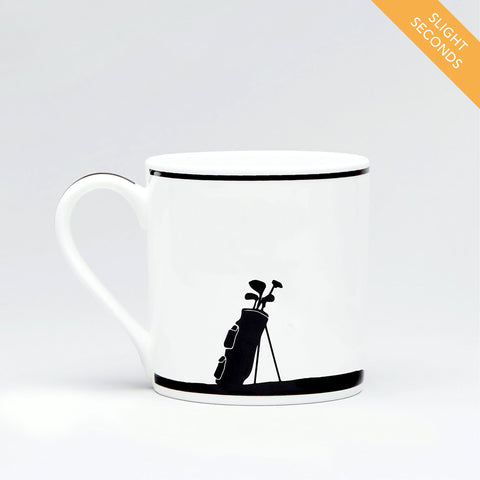 Seconds Sale - Golfing Rabbit Mug