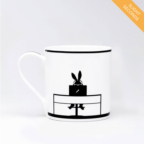 Seconds Sale - Working Rabbit Mug