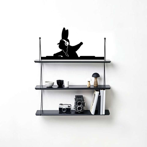 DJ Rabbit Wall Sticker