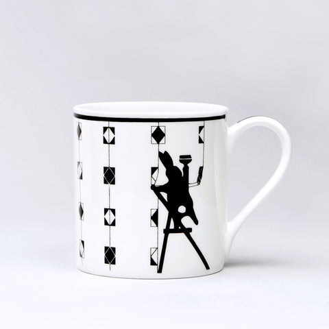 Redecorating Rabbit Mug