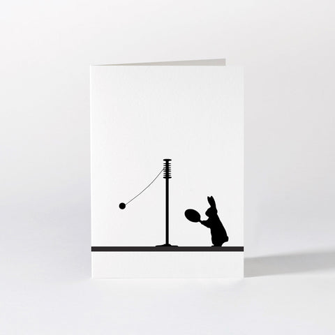 Swingball Rabbit Card