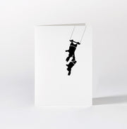 Trapeze Rabbit Card