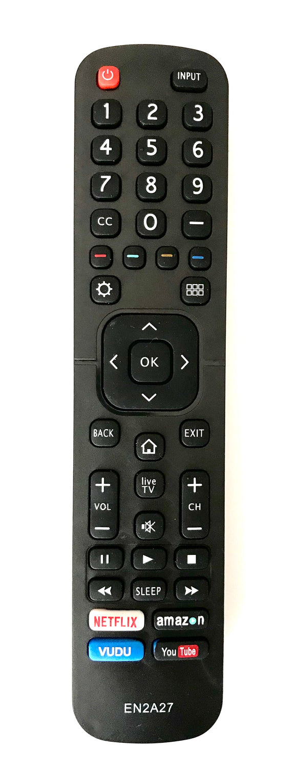 TV HISENSE Remote Control Replacement EN2A27 for HISENSE TV
