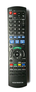 TV Panasonic Remote Control Replacement N2QAYB000124 for Panasonic TV models